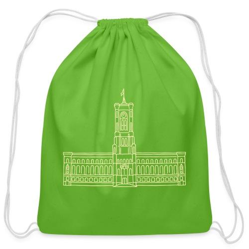 Red City Hall Berlin - Cotton Drawstring Bag
