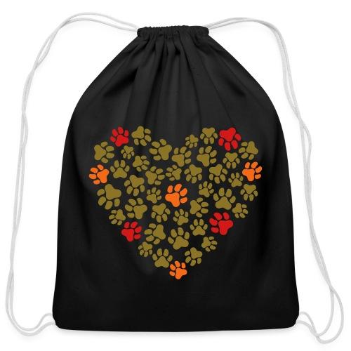 Animal Love - Cotton Drawstring Bag