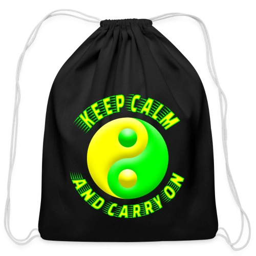 Keep Calm - Cotton Drawstring Bag
