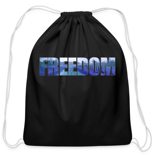 Freedom Photography Style - Cotton Drawstring Bag