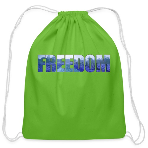 Freedom Photography Style - Cotton Drawstring Bag