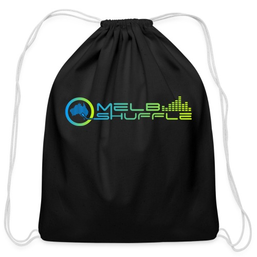 Melbshuffle Gradient Logo - Cotton Drawstring Bag