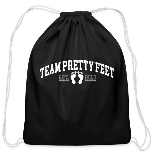 Team Pretty Feet™ Universi-TEE - Cotton Drawstring Bag