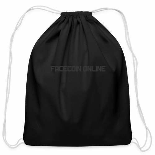facecoin online dark - Cotton Drawstring Bag