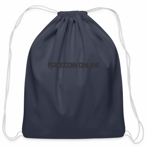 facecoin online dark - Cotton Drawstring Bag