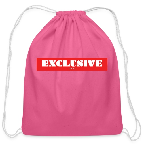 exclusive - Cotton Drawstring Bag