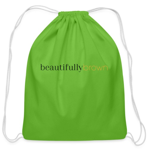 beautifullybrown - Cotton Drawstring Bag