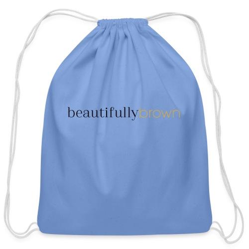 beautifullybrown - Cotton Drawstring Bag