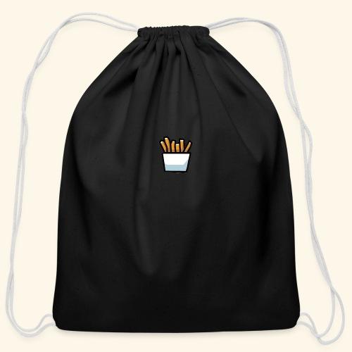 Fries - Cotton Drawstring Bag
