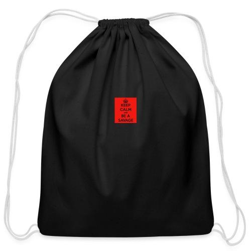 SAVAGE - Cotton Drawstring Bag