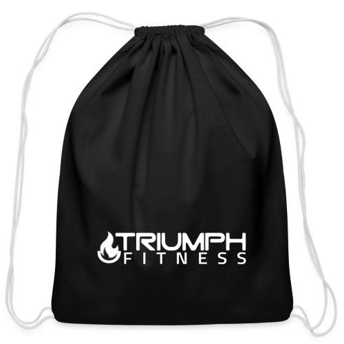 triumph 03 clear white - Cotton Drawstring Bag