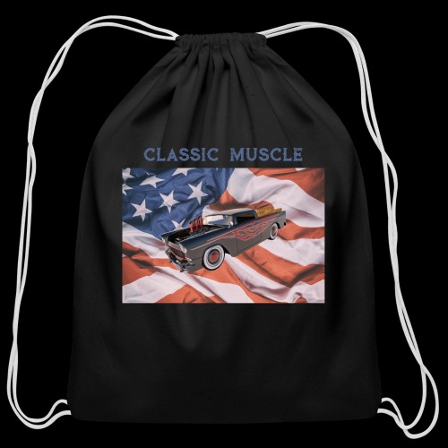 CLASSIC MUSCLE - Cotton Drawstring Bag