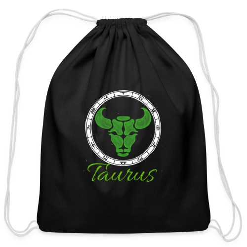 taurus - Cotton Drawstring Bag