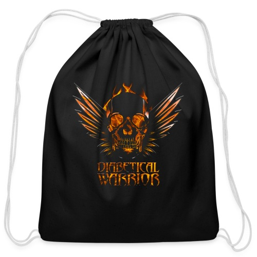 Diabetical Warrior - Cotton Drawstring Bag