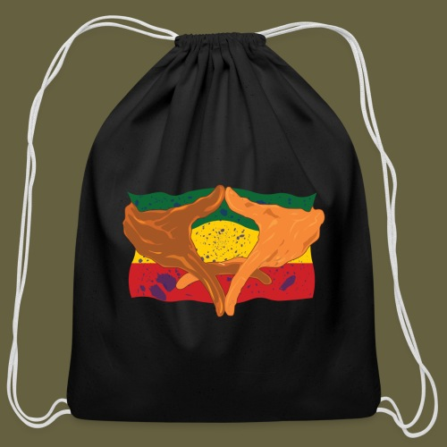 Hands of His Imperial Majesty - Cotton Drawstring Bag