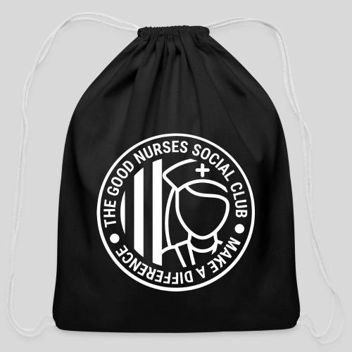 The Good Nurses Social Club - Cotton Drawstring Bag