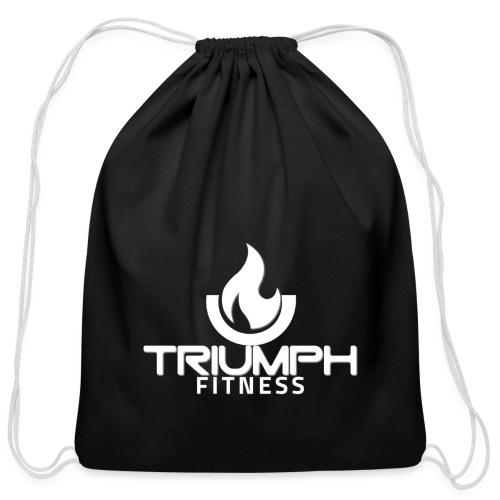 triumph 01clear white - Cotton Drawstring Bag