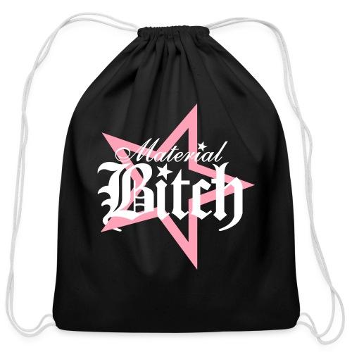 Material Bitch Logo - Cotton Drawstring Bag