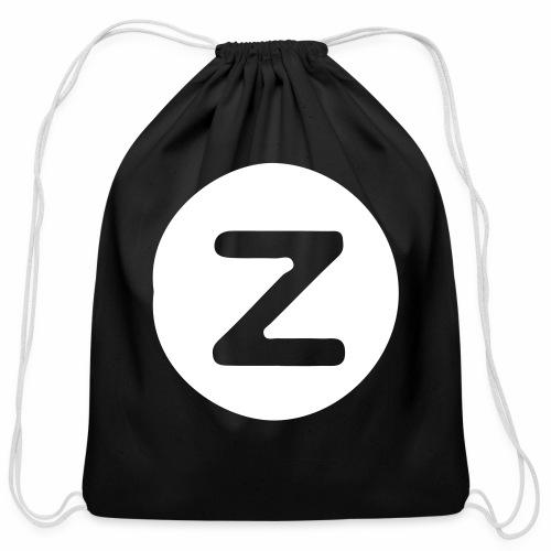 z logo - Cotton Drawstring Bag