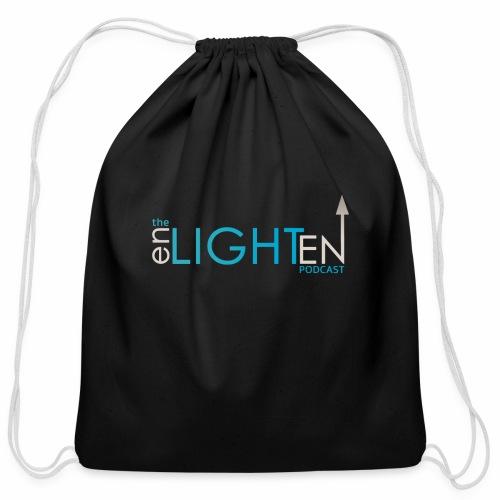 The enLIGHTenUP Podcast - Cotton Drawstring Bag
