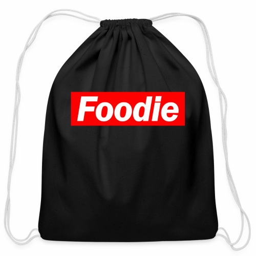 Foodie - Cotton Drawstring Bag