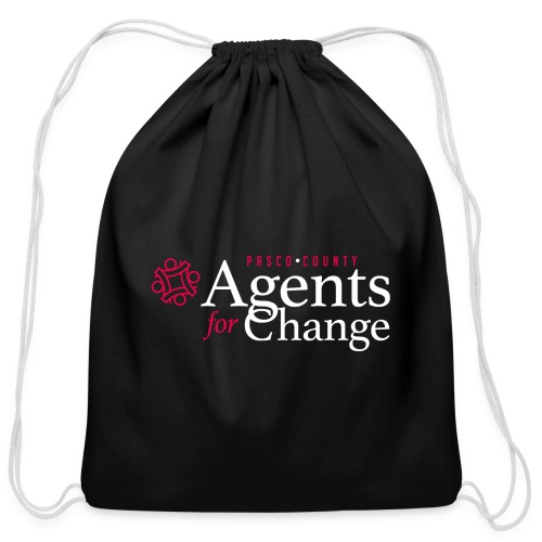 pascoagentsforchange logo - Cotton Drawstring Bag