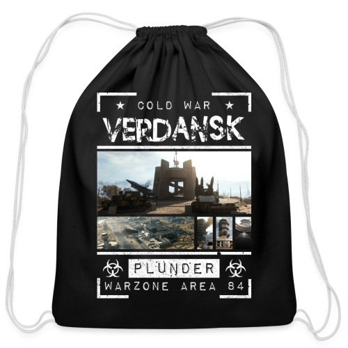 Verdansk Plunder - Cotton Drawstring Bag