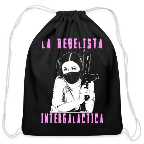 La Rebelista - Cotton Drawstring Bag
