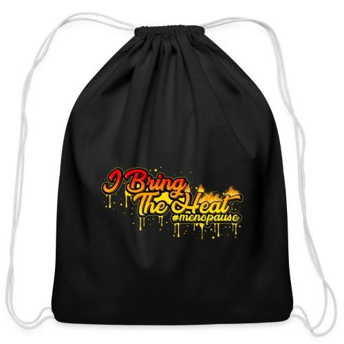 I Bring The Heat - Cotton Drawstring Bag