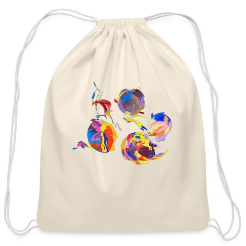 Galaxy - Cotton Drawstring Bag