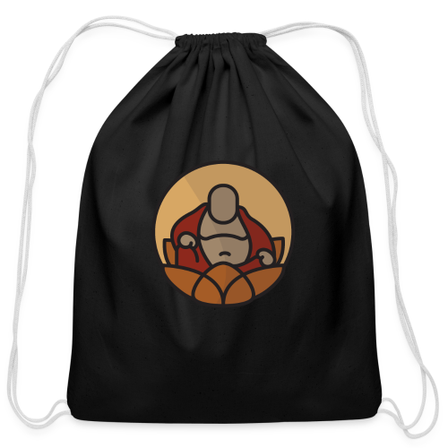 AMERICAN BUDDHA CO. COLOR - Cotton Drawstring Bag