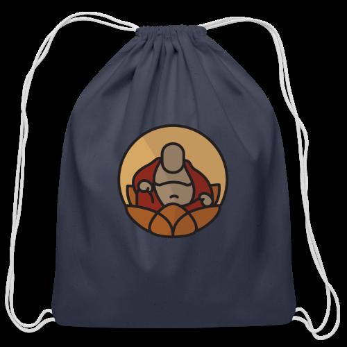 AMERICAN BUDDHA CO. COLOR - Cotton Drawstring Bag