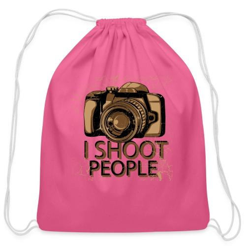 Photographer - Cotton Drawstring Bag