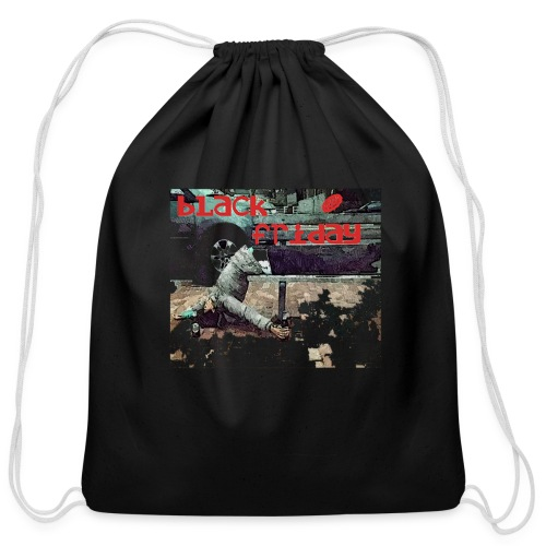 black friday - Cotton Drawstring Bag