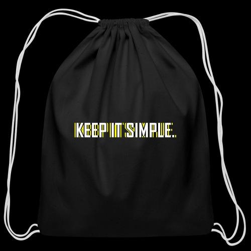 Keep It Simple - Cotton Drawstring Bag