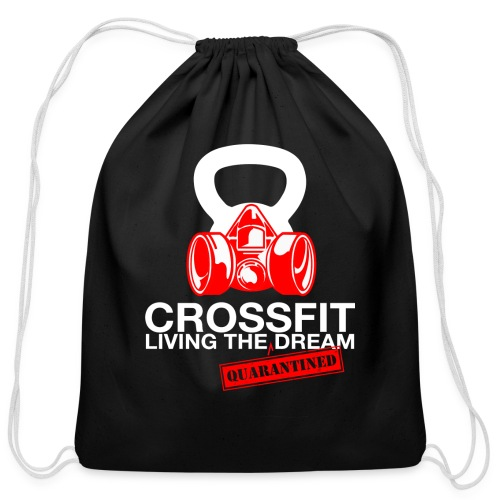 CROSSFIT LTQD - WHITE - Cotton Drawstring Bag
