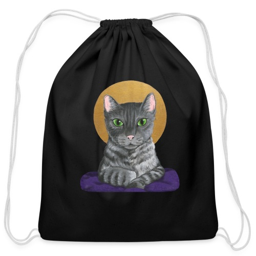 Lord Catpernicus - Cotton Drawstring Bag