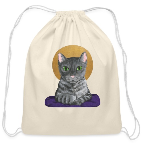 Lord Catpernicus - Cotton Drawstring Bag
