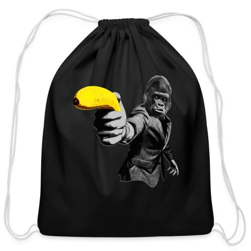 Officer Ape 001 - Cotton Drawstring Bag