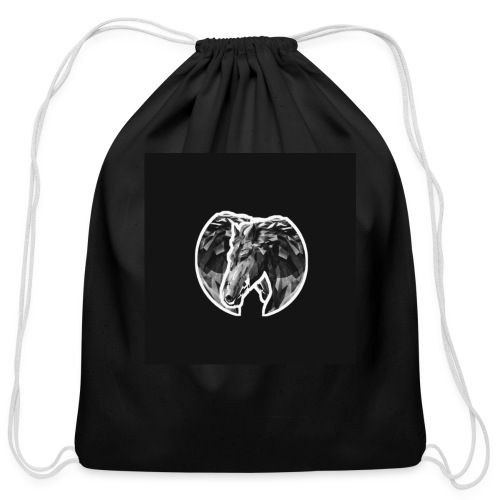 Horse - Cotton Drawstring Bag