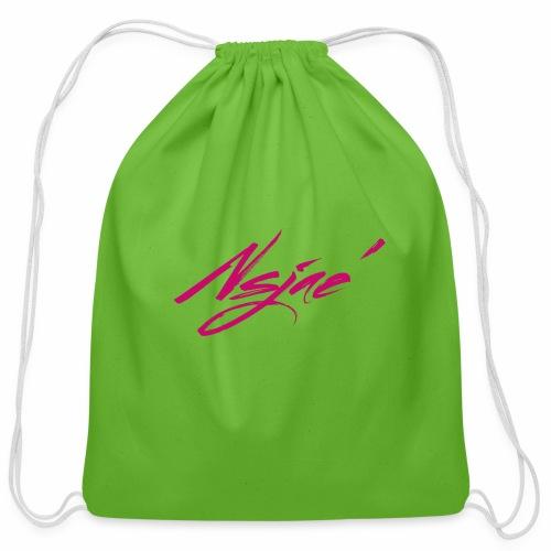 NSJAE Lovin Pink - Cotton Drawstring Bag