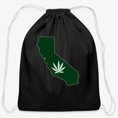 weed - Cotton Drawstring Bag