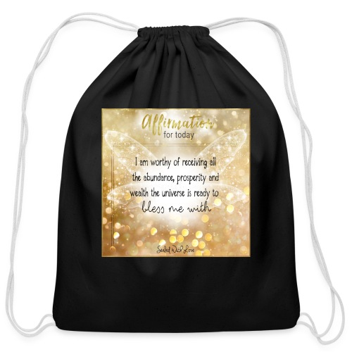 Abundance - Cotton Drawstring Bag