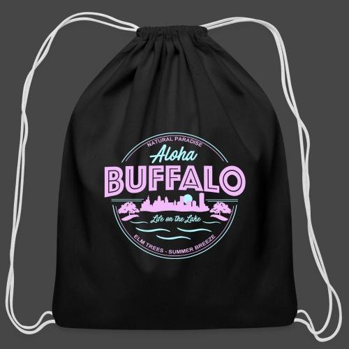 Aloha Buffalo - Cotton Drawstring Bag