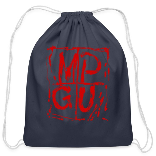 MPGU RED STROKE - Cotton Drawstring Bag