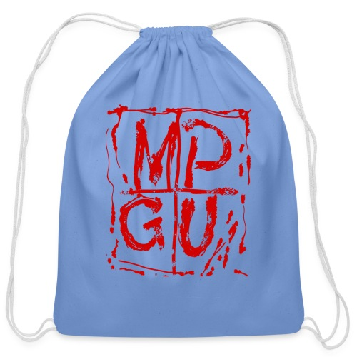 MPGU RED STROKE - Cotton Drawstring Bag