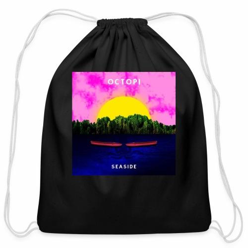Seaside - Cotton Drawstring Bag