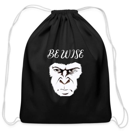 Be Wise - Cotton Drawstring Bag