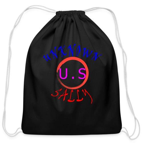 Initial Hoodie - Cotton Drawstring Bag