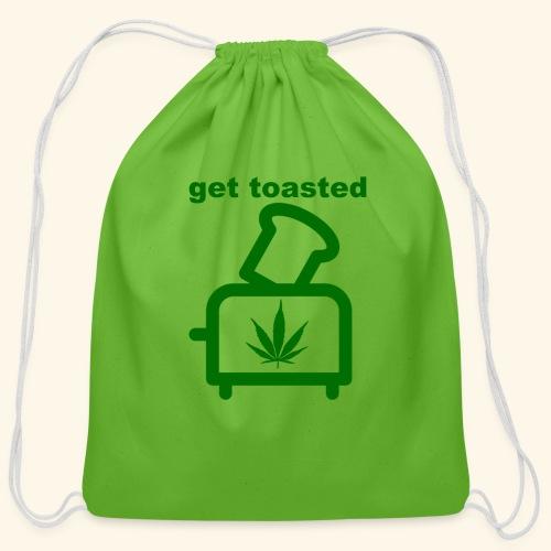 GET TOASTED - Cotton Drawstring Bag